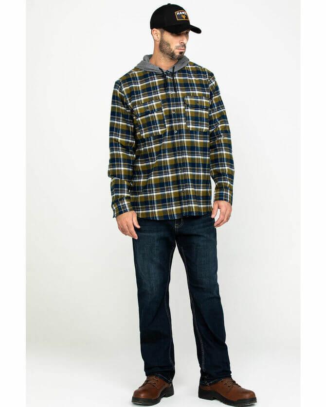 Фланелевые рубашки для мужчин – яркие образы 2020-2021 6