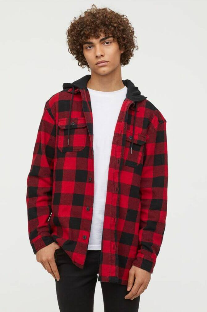 Фланелеві сорочки для чоловіків – яскраві образи 2020-2021 8