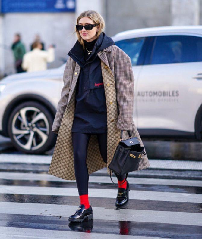 С чем носить леггинсы этой осенью, чтоб оставаться стильной 2