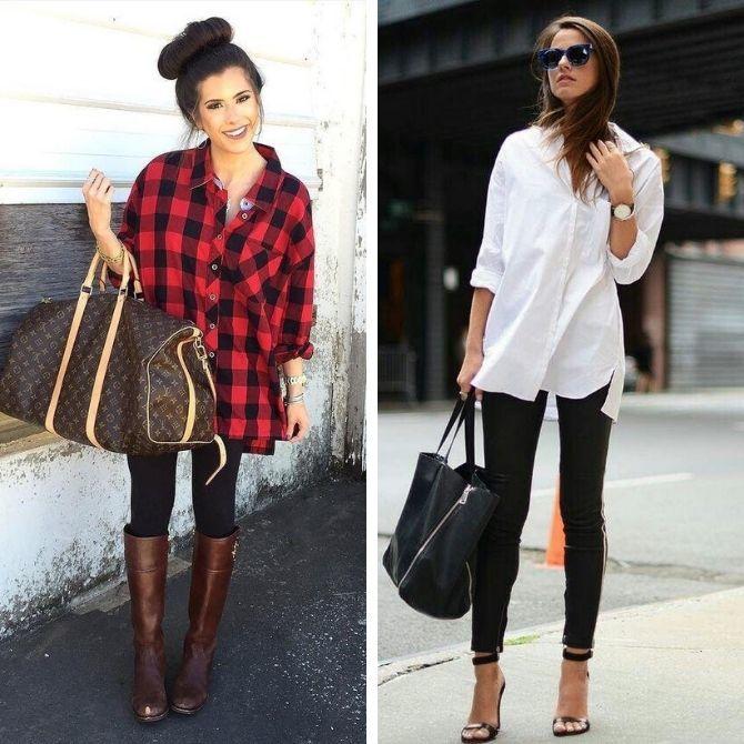 С чем носить леггинсы этой осенью, чтоб оставаться стильной 4