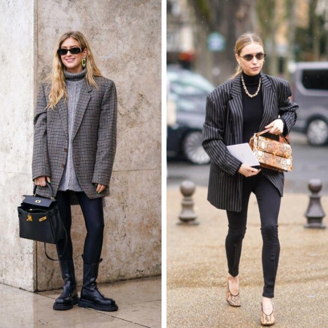 С чем носить леггинсы этой осенью, чтоб оставаться стильной 5