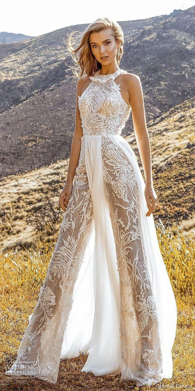 Весільні комбінезони – кращі ідеї для сміливих наречених 21