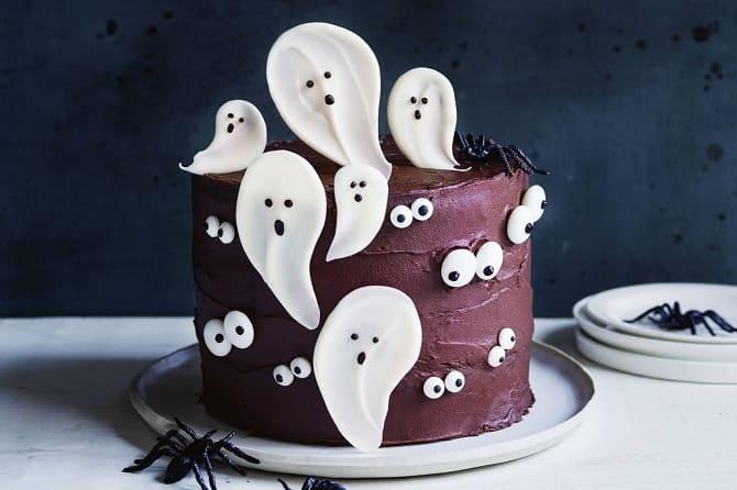 Торт на Геловін: варіанти прикрашання «жахливого» десерту 4