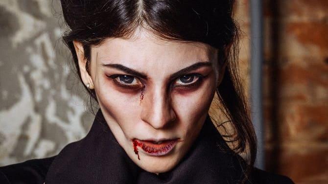 До последней капли крови: самый крутой макияж вампира на Хэллоуин, который можно легко сделать дома – секреты, идеи, фото 2