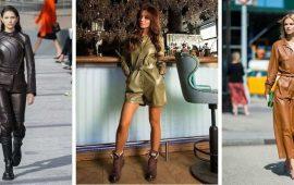 Стильные луки с кожаными комбинезонами: почему их стоит носить