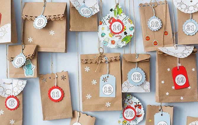 Адвент-календарь своими руками для детей: лучшие идеи с примерами 5
