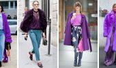 5 идей, как правильно носить фиолетовый цвет