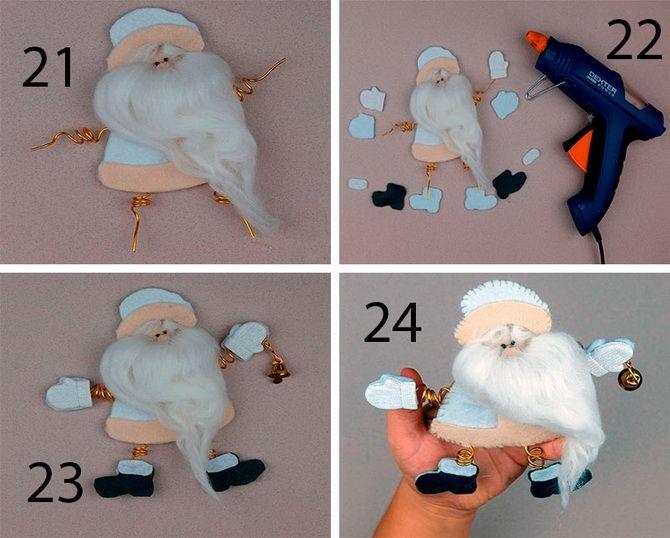 Дед Мороз своими руками: ТОП-5 лучших мастер-классов 2021 года 14