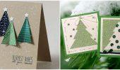 Создаем новогодние открытки своими руками: простые мастер-классы