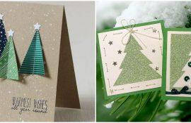 Створюємо новорічні листівки своїми руками: прості майстер-класи