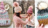 Женские вязаные шапки 2021 года: модели, которые подходят всем