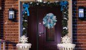 Кращі ідеї, як красиво і оригінально прикрасити двері на Новий рік 2021
