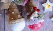 Елочные игрушки из лампочек: создаем новогоднее настроение