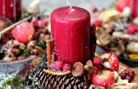 Як зробити новорічні свічники своїми руками – кращі ідеї