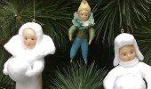 Створюємо ялинкові іграшки з вати: круті новорічні вироби