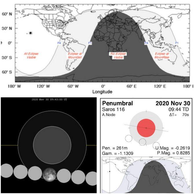 Лунное затмение в ноябре 2020: чего опасаться в этот период 3