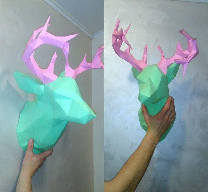 Новорічний олень: казкові вироби своїми руками 31