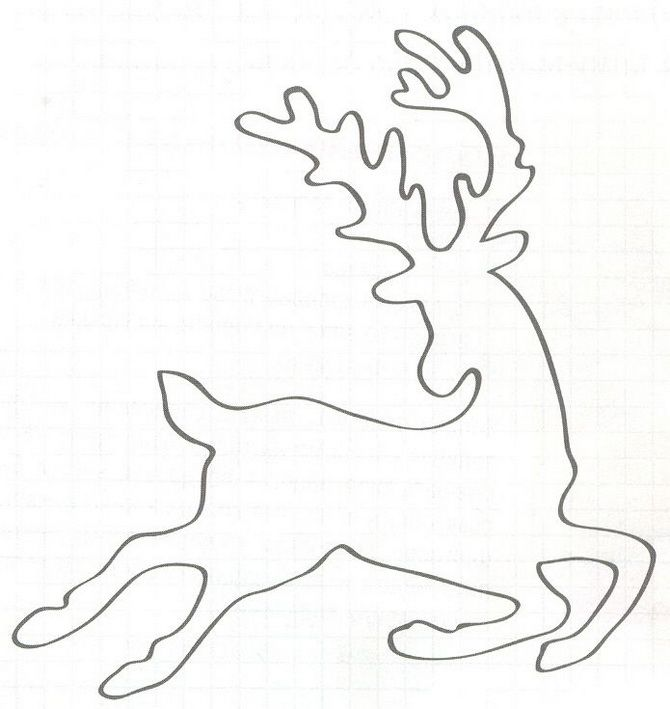 Новорічний олень: казкові вироби своїми руками 6
