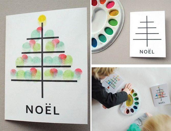 Створюємо новорічні листівки своїми руками: прості майстер-класи 1