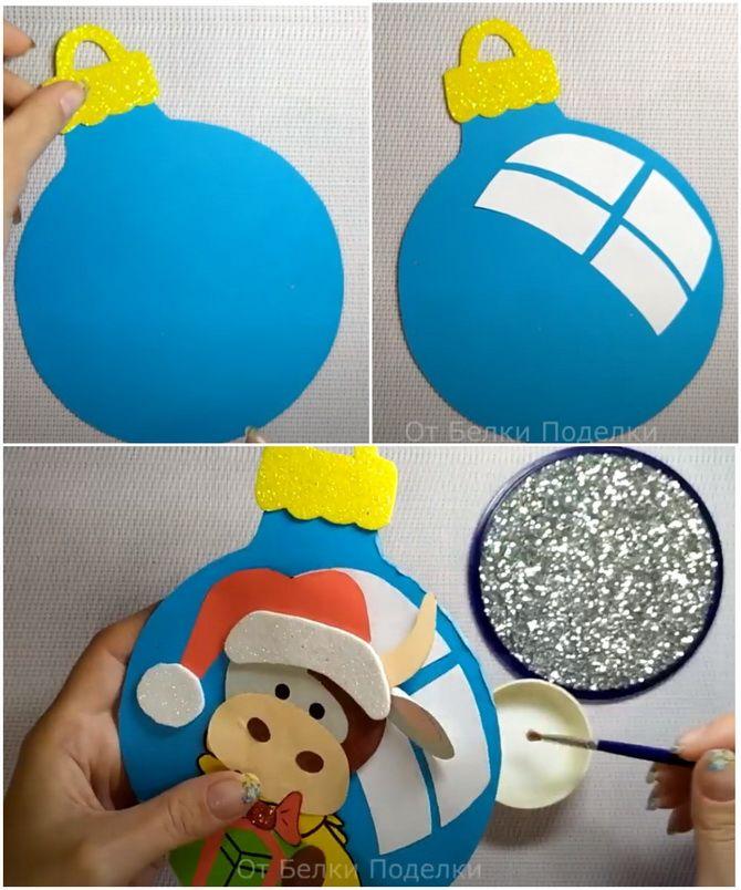 Створюємо новорічні листівки своїми руками: прості майстер-класи 12