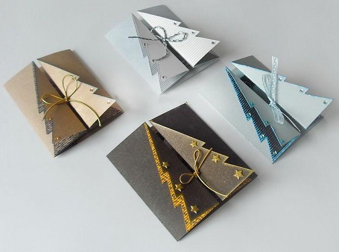Створюємо новорічні листівки своїми руками: прості майстер-класи 15
