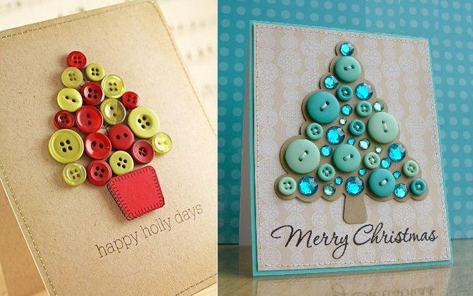 Створюємо новорічні листівки своїми руками: прості майстер-класи 16