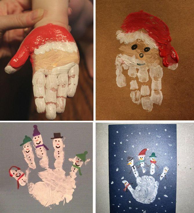 Створюємо новорічні листівки своїми руками: прості майстер-класи 2