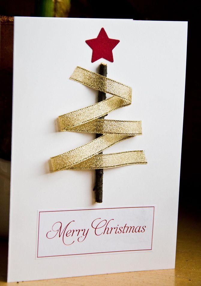 Створюємо новорічні листівки своїми руками: прості майстер-класи 20