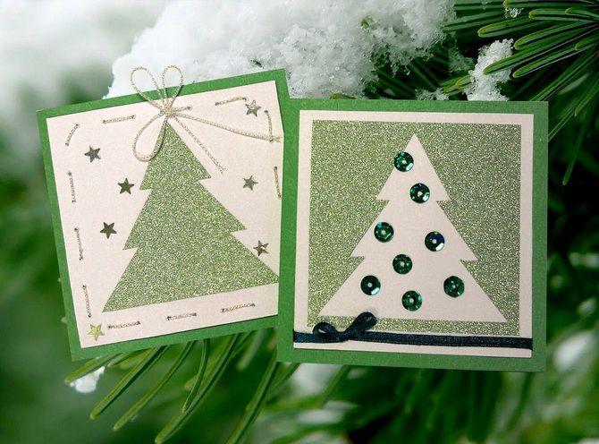 Створюємо новорічні листівки своїми руками: прості майстер-класи 21