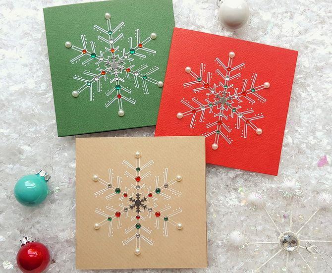 Створюємо новорічні листівки своїми руками: прості майстер-класи 23