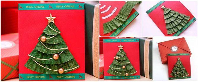 Створюємо новорічні листівки своїми руками: прості майстер-класи 4