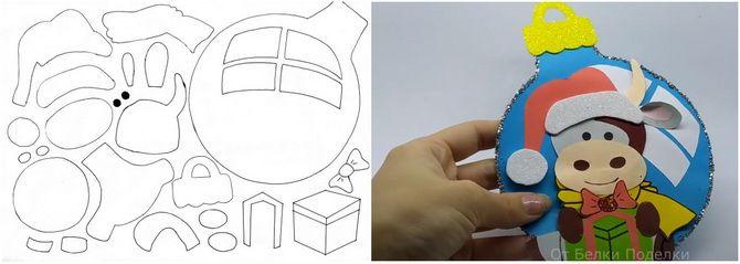 Створюємо новорічні листівки своїми руками: прості майстер-класи 8