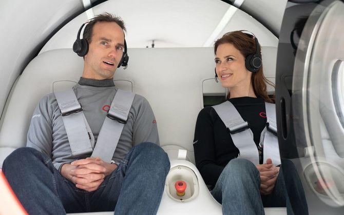 «Гіперпетля майбутнього»: надшвидкісний потяг Hyperloop вперше перевіз пасажирів 2