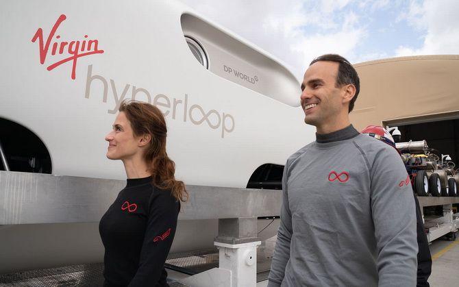 «Гіперпетля майбутнього»: надшвидкісний потяг Hyperloop вперше перевіз пасажирів 5
