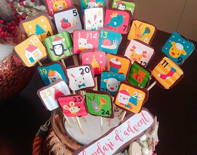 Адвент-календарь своими руками для детей: лучшие идеи с примерами 55