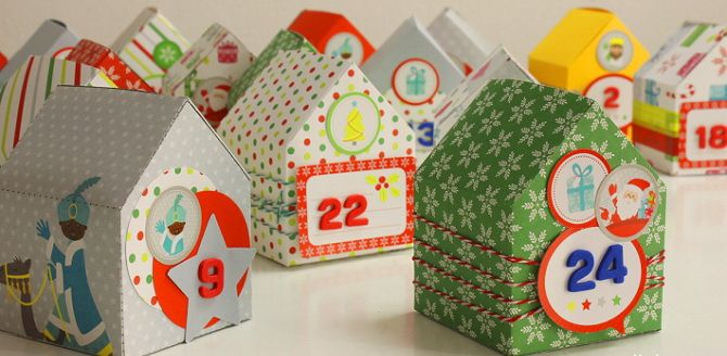 Адвент-календарь своими руками для детей: лучшие идеи с примерами 56