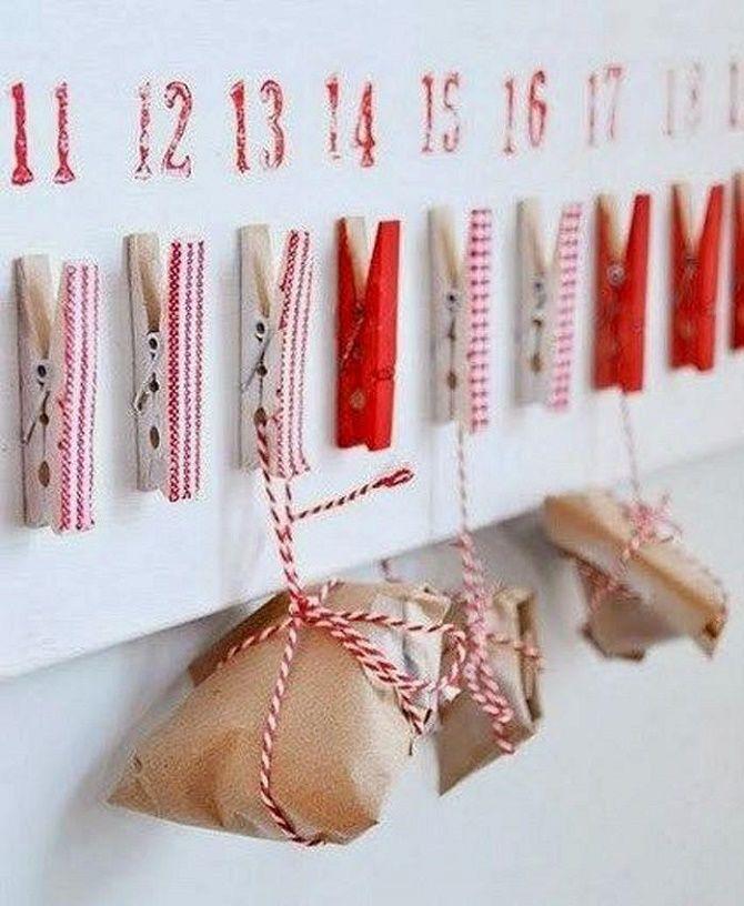 Адвент-календарь своими руками для детей: лучшие идеи с примерами 45