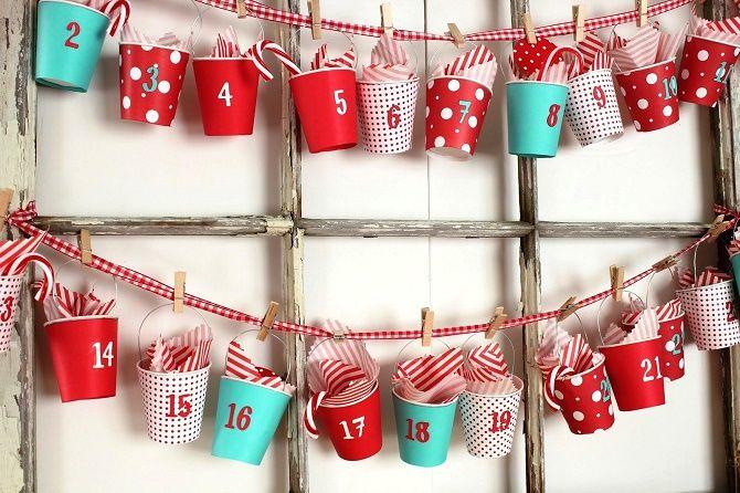 Адвент-календарь своими руками для детей: лучшие идеи с примерами 46