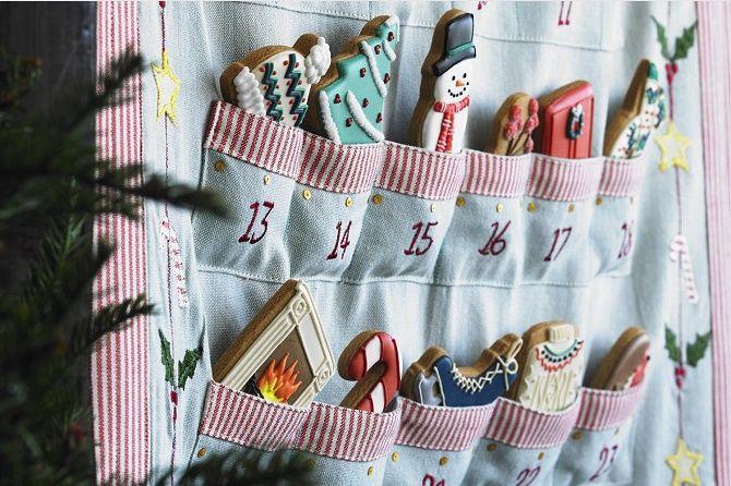 Адвент-календарь своими руками для детей: лучшие идеи с примерами 49