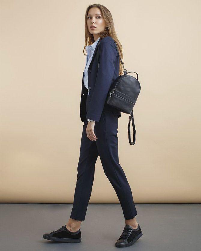 Модний жіночий рюкзак: як вибрати і з чим носити 13