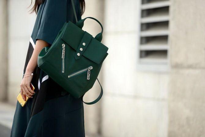 Модний жіночий рюкзак: як вибрати і з чим носити 15