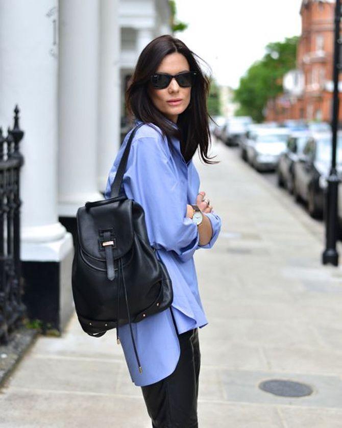 Модний жіночий рюкзак: як вибрати і з чим носити 18