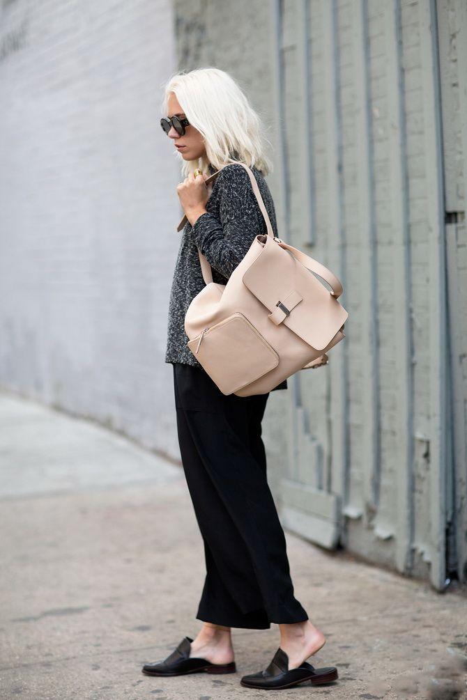 Модний жіночий рюкзак: як вибрати і з чим носити 22