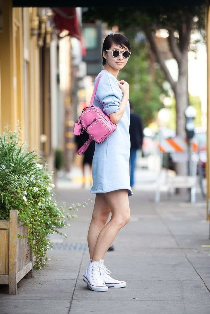 Модний жіночий рюкзак: як вибрати і з чим носити 25
