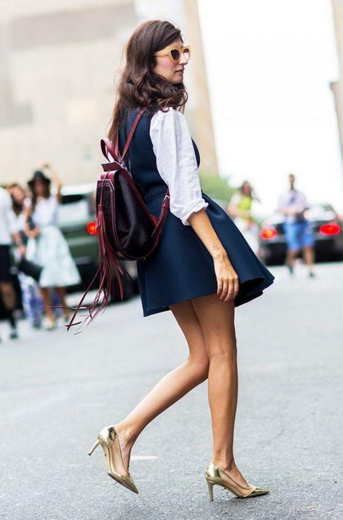 Модний жіночий рюкзак: як вибрати і з чим носити 26