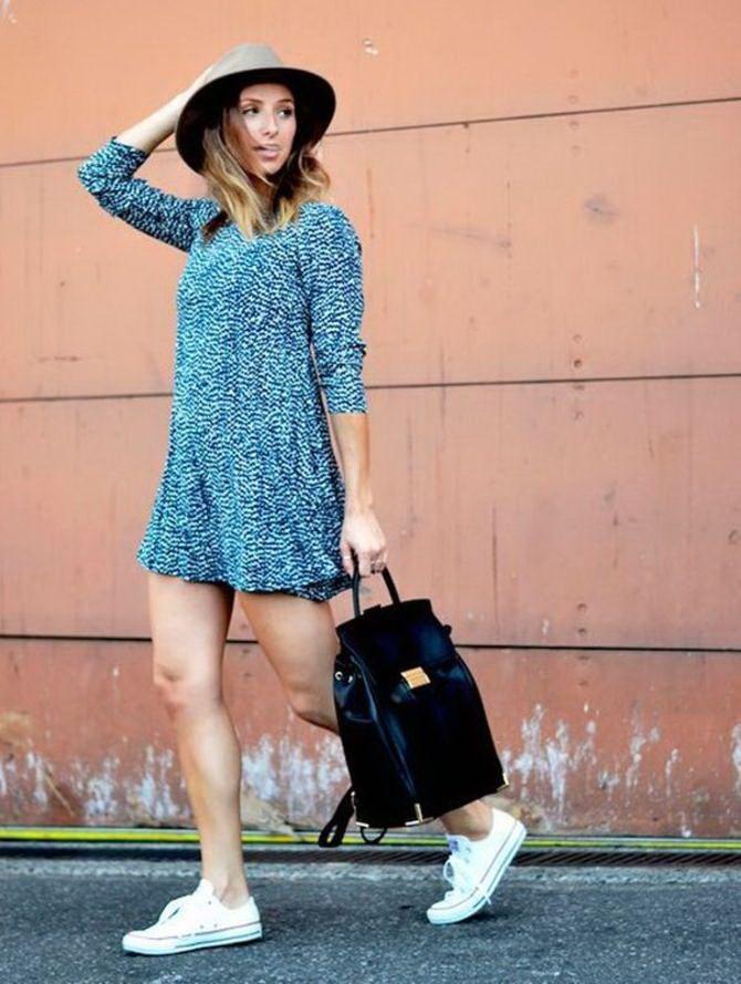 Модний жіночий рюкзак: як вибрати і з чим носити 27