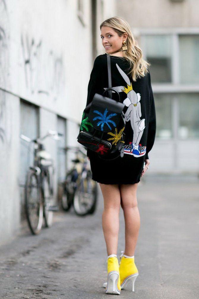 Модний жіночий рюкзак: як вибрати і з чим носити 28
