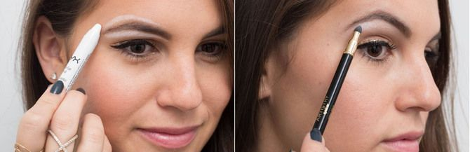 Горячий тренд 2020: хитрости макияжа с белым карандашом 19