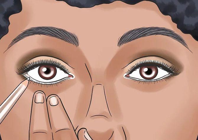 Горячий тренд 2020: хитрости макияжа с белым карандашом 2
