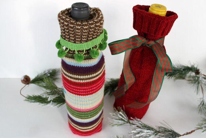 Как украсить бутылку шампанского на Новый год: 5+ интересных идей 13